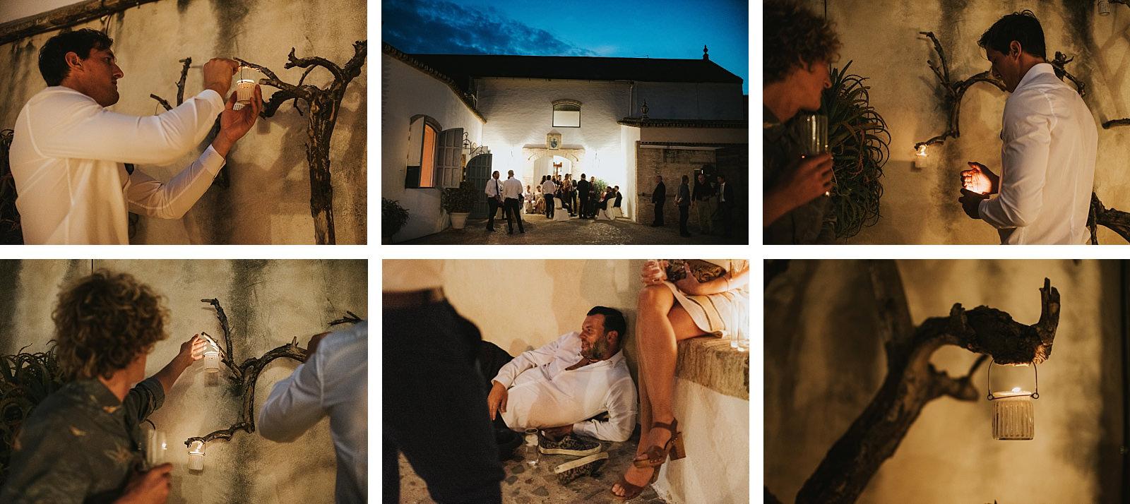 Boda en Sevilla, Boda en Hacienda Doña Caridad
